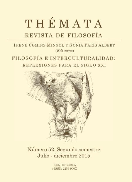 Thémata. Revista de Filosofía nº 52